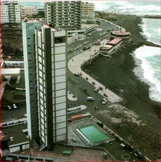 Puerto de La Cruz 1968 ( Hotel Oro Negro )