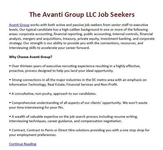 Tips om hvordan arbeidsgivere kan lande deres øverste alternativet - resume writing group