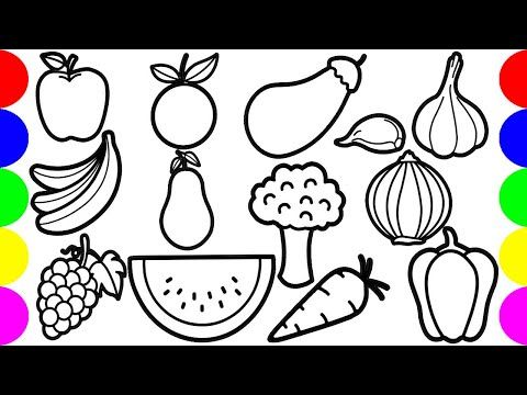 Fruits Basket Drawing Pictures Jolly Toy Fruit Basket Drawing Basket Drawing Pictures To Draw