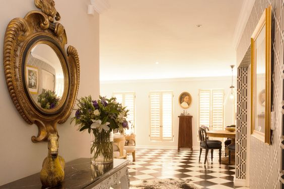 Interior design for Private Home in Woodlands,  South Africa.  Charli Paci Couture Interiors