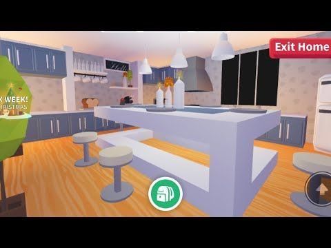 Adopt Me Kitchen Build Estate Re Upload In 2020 Cute Room Ideas My Home Design Home Roblox