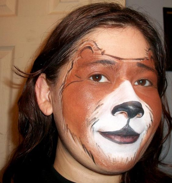Zoo Animals - Page 5 -= bear | A face paint: animals ...