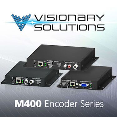 Visionary Solutions Introduces Line of H.264 HD Encoders - http://goo.gl/QcTQNi