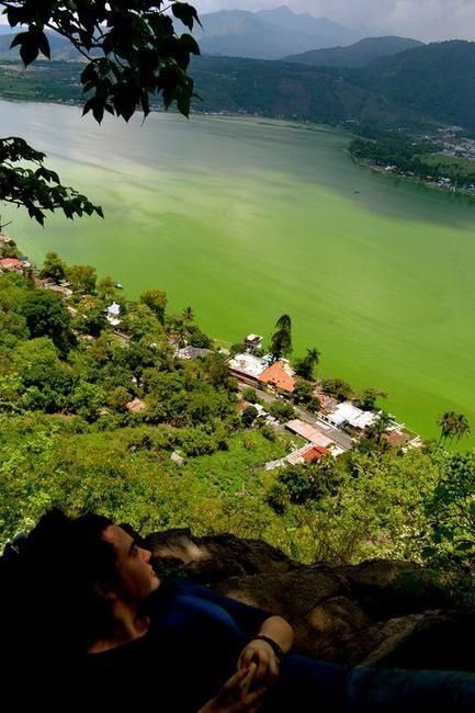 #Amatitlán Lake, #Guatemala