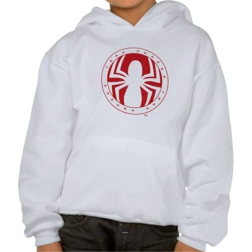 (Spider-Man Team Heroes Emblem Hoodie) #MarvelComics #SpiderEmblem #SpiderIcon #SpiderLogo #SpiderMan #Spiderman #SpidermanTeamHeroes #SuperHero is available on Famous Characters Store   http://ift.tt/2d42ah2