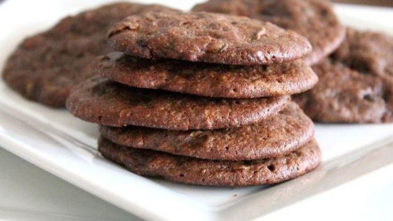 Double-Chocolate Zucchini Cookies Recipe