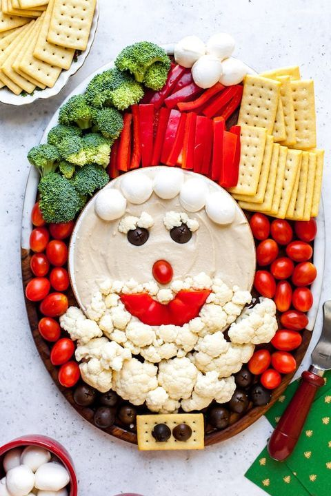 65 Cute Christmas Party Food Ideas That Ll Delight Everyone In 2020 Food Christmas Party Food Holiday Recipes Sides