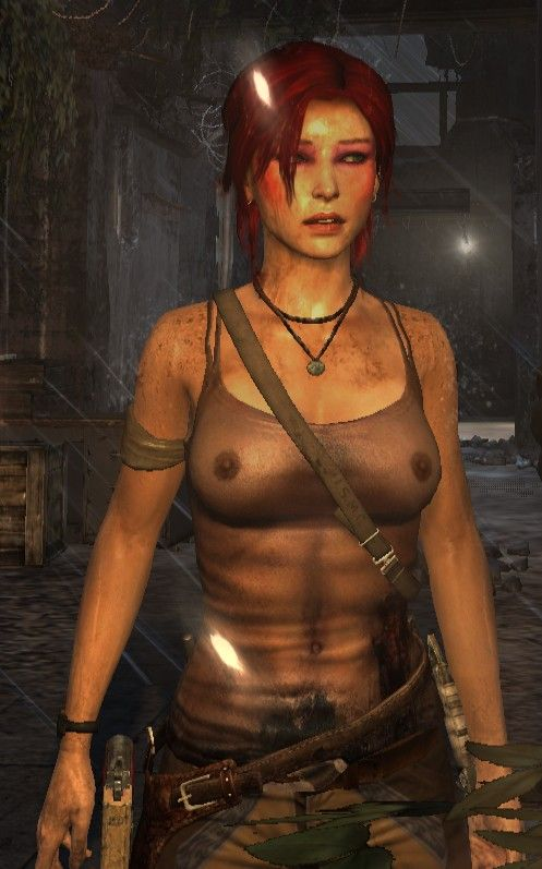 Topless Laura Croft Nude Patch Pics