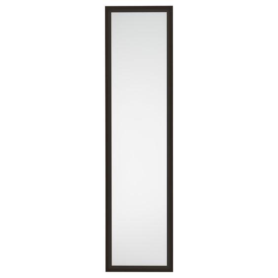Fevik door black brown frosted glass hardware glass for Ikea barn door hardware