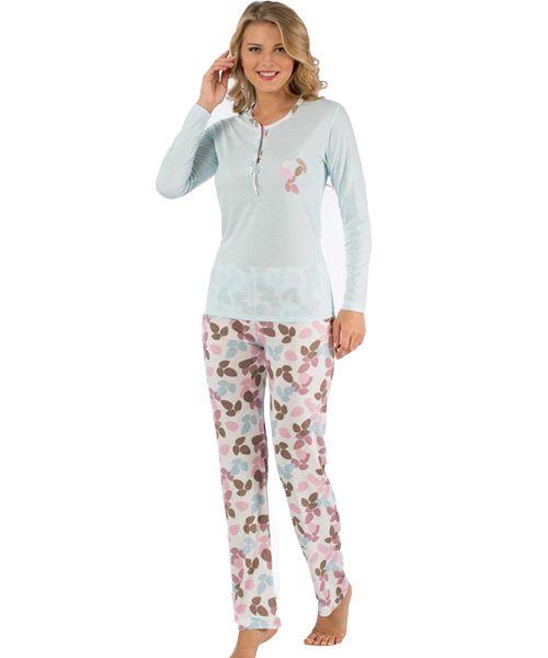 Toptan Bayan Pijama Takimi 2040uk Pijama Moda Stilleri Giyim