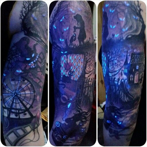 Uk ink on healed tattoo. Thanks Claire. Done at the tattooed lady, Montreuil, france. mylooz.tatouage@gmail.com