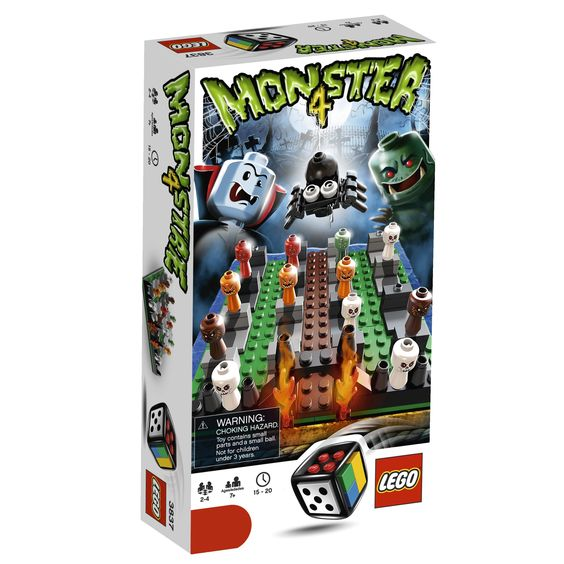 Amazon.com: LEGO Monster 4 Game (3837): Toys & Games