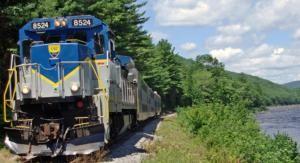 America's Most Fun and Fabulous Historic Train Rides: Saratoga & North Creek Railroad: New York