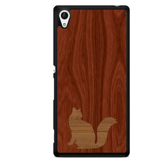 Wood Cat TATUM-12031 Sony Phonecase Cover For Xperia Z1, Xperia Z2, Xperia Z3, Xperia Z4, Xperia Z5