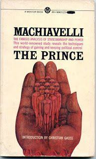 an analysis of the prince a book by machiavelli 2018-6-16  major themes in the book the prince, written by niccolo machiavelli, is one of the first examinations of politics and science from a purely scientific and.