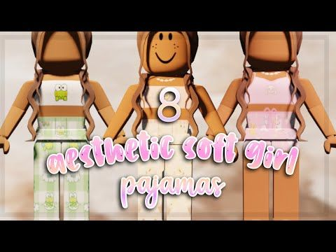 Roblox Girl Outfit Ideas With Codes Aesthetic Pajama Codes For Bloxburg Roblox Youtube In 2020 First Youtube Video Ideas Coding Roblox