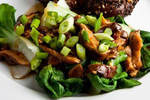 Baby Bok Choy with Shiitake Mushrooms | Recipe | Mushrooms and Babies