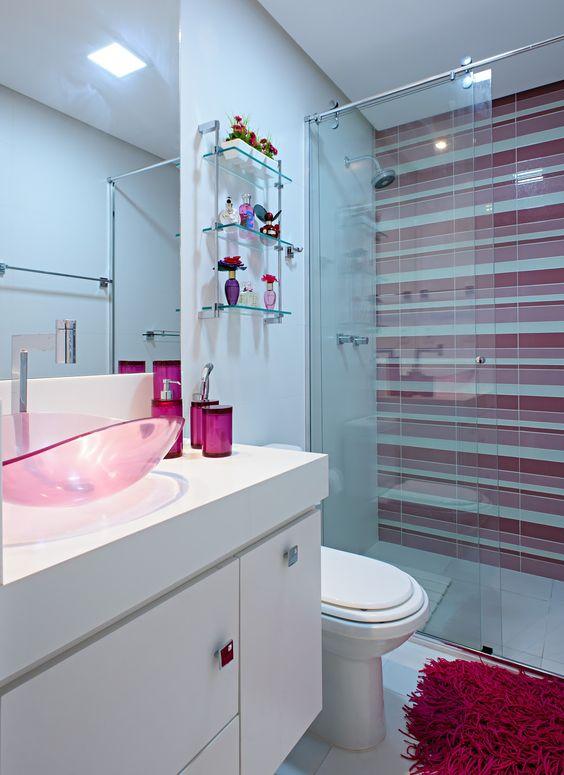 banheiro feminino  decoração  Pinterest -> Banheiro Suite Feminino