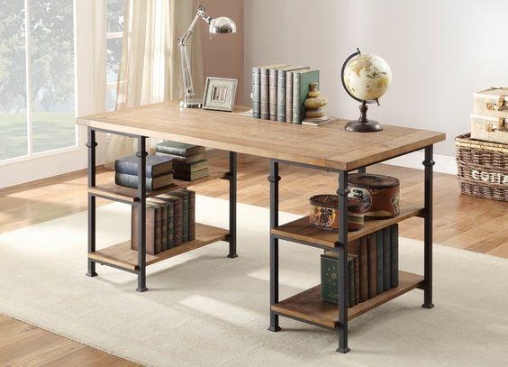 Woodbridge Home Designs Factory Writing Desk & Reviews | Wayfair
