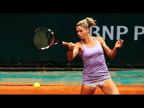 Tennis Top Funny Moments 2018 Edition Part 7 Youtube Tennis Players Female Tennis Professional Camila Giorgi