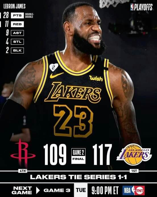Lakers Win Game 3 Playoffs September 2020 In 2020 Lakers Win Lebron James Lakers