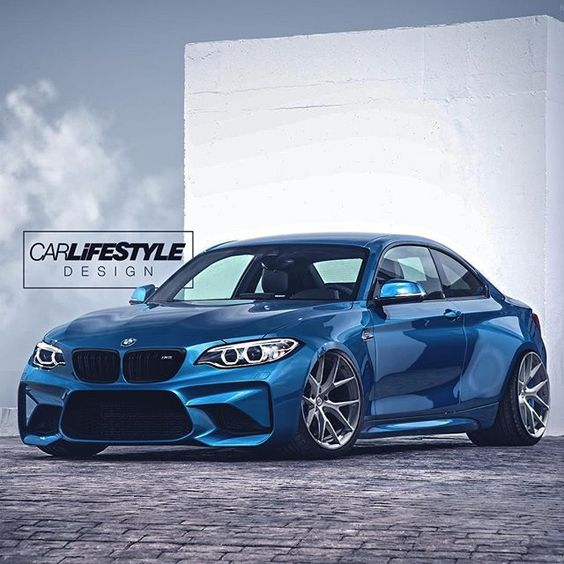Wide BMW M2 on @hre_wheels • Design by @carlifestyle #CarLifestyle for a chance to be featured!