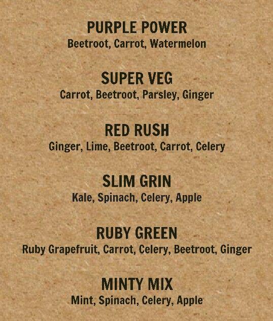 Top Juice Veggie Juices