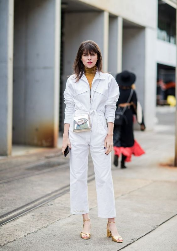 Fashion Week Australia, MBFWA, street style, Australian fashion, Australian style, outfit ideas, autumn fashion, autumn outfits, boiler suit, boiler suit outfit, jumpsuit, jumpsuit outfit, silver bag, silver bag outfit, turtleneck, turtleneck outfit