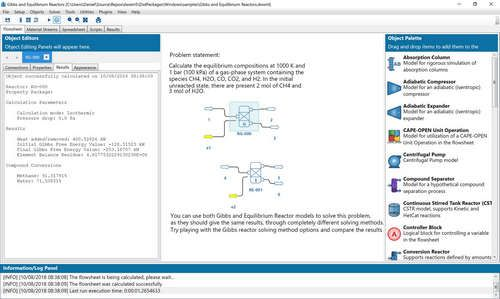 Dwsim V5 8u4 المجاني Interface Software Chemical