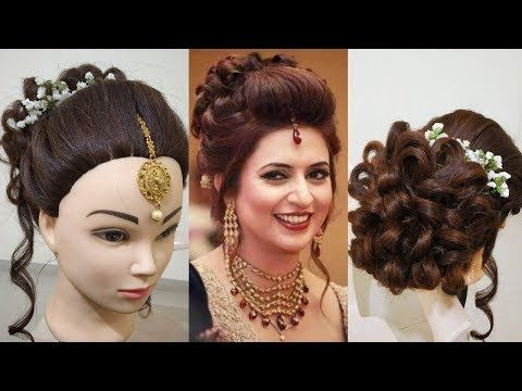Divyanka Tripathi S Bridal Messy Bun Hairstyle Party Juda Hairstyle Youtube Messy Bun Hairstyles Party Hairstyles Bun Hairstyles