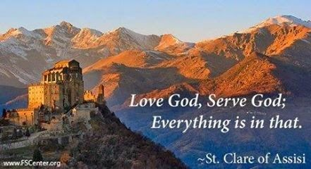 Catholic News World : Catholic Quote to SHARE by St. Clare of ...