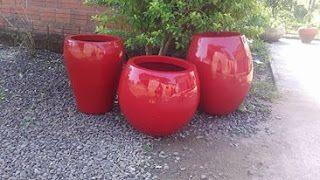 Formas para vasos de Cimento e Artefatos em Geral: Você já ouviu falar em vasos de fibra.... Mais res...