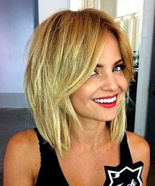 Medium Shaggy Hairstyles 2016 for Women