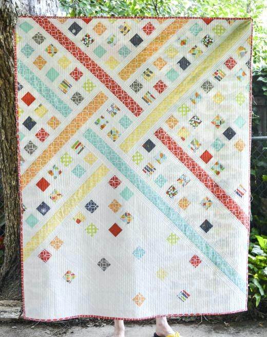 Modern Trellis Must Love Quilts Modern Style Quilt Patterns