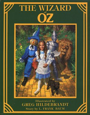 Wizard of Oz, Greg Hildebrandt illustrations- my first graders LOVE this book
