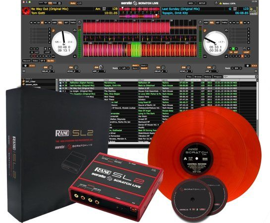 NAMM-News 2013: Rane SL2 inkl. Serato Scratch Live Red Special Edition