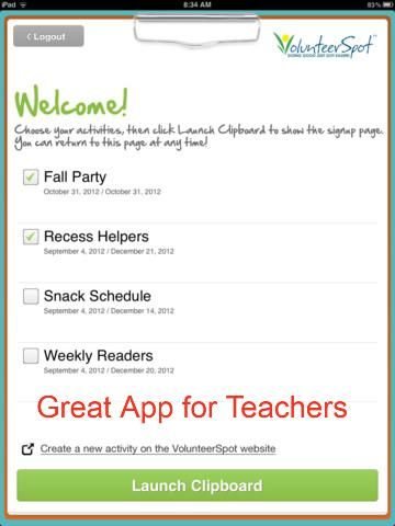 Great Ap for teachers when you have to organize parents for school events. MonaRAEbeads.com