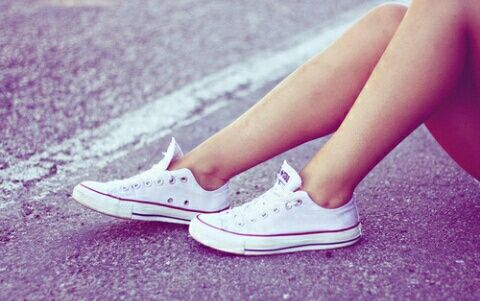 converse, shoes, and white imageの画像