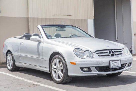 Convertible 2006 Mercedes Benz Clk 350 Cabriolet With 2 Door In