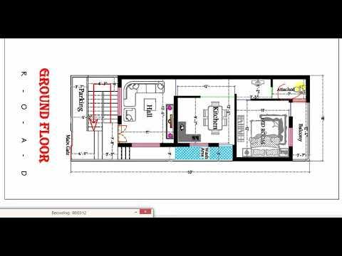 18x50 Ft Best House Plan In Hindi With Images How To Plan