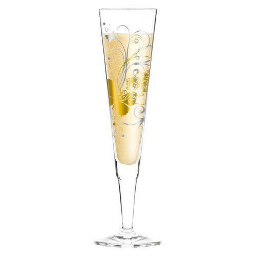 Ritzenhoff Champus 200ml Glass Champagne Flute Shot Glass Set Wine Glass Set Cocktail Glass