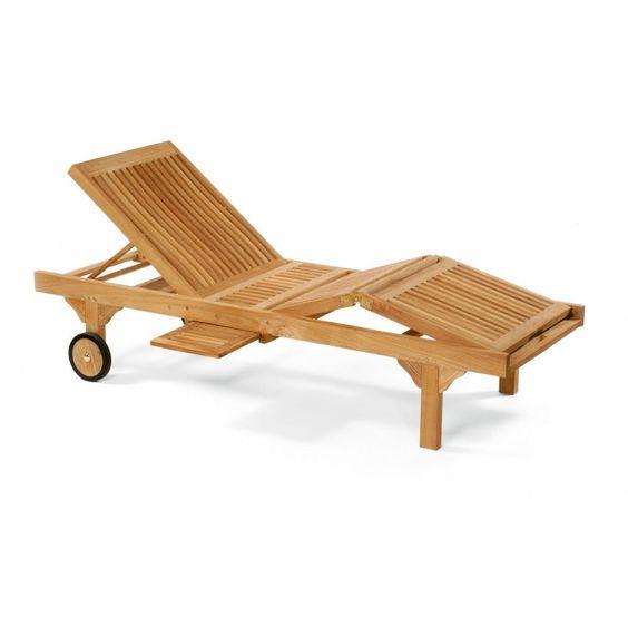 """Sonnenliege """"QUEENS"""" Rücken- und Fußteil mehrfach verstellbar - Ihr Online Shop für exklusive Gartenmöbel - #Garten #Moebel"""