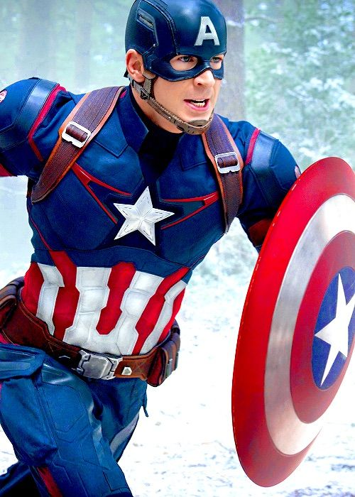 Chris Evans || Captain America || Age of Ultron: