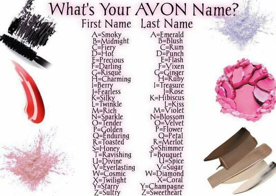 What Is Your Avon Name Mine Is Ravishing Flowers Petal First Names Avon
