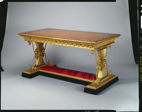 Table. Morel & Seddon (cabinet maker)  1828