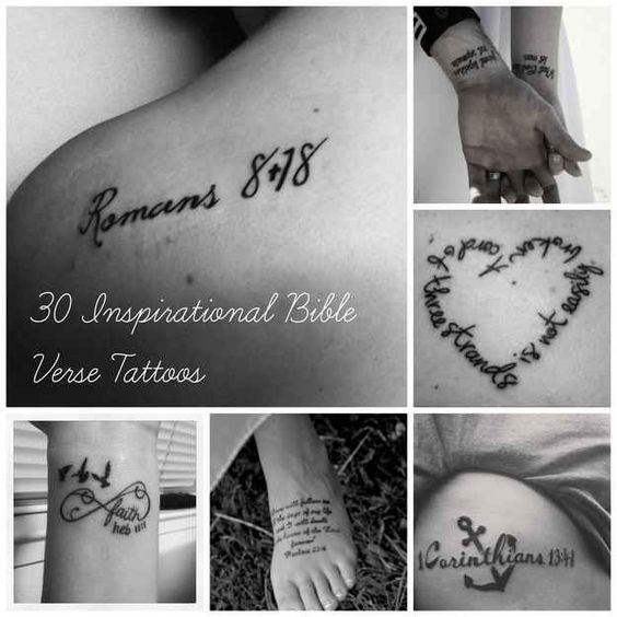 99 Bible Verse Tattoos To Inspire: Community Post: 30 Inspirational Bible Verse Tattoos