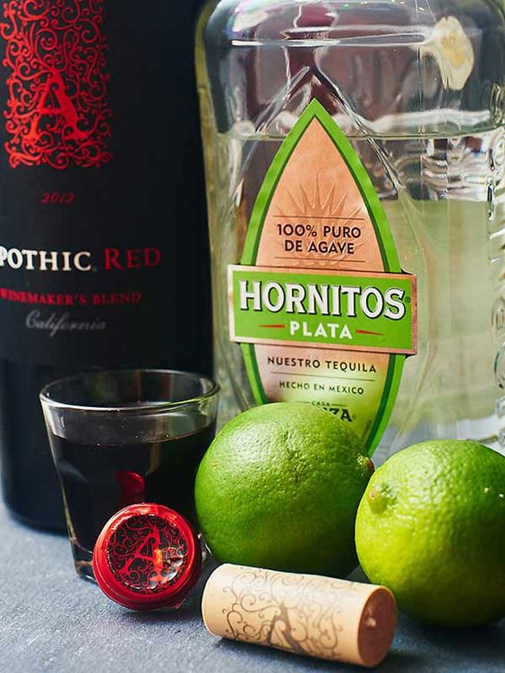 A little sweet, a little tart, and a whole lot of yummy. All you need is lime, sugar, tequila and red wine! The Devil's Margarita is great for one, or even a crowd. Perfect to serve at your next Halloween Party! www.showmetheyummy.com #margarita #cocktail #halloween #redwine #happyhour #lime #tequila #simplesyrup
