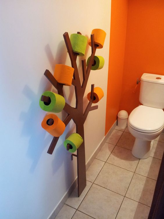 Blog on pinterest - Arbre porte rouleau papier toilette ...