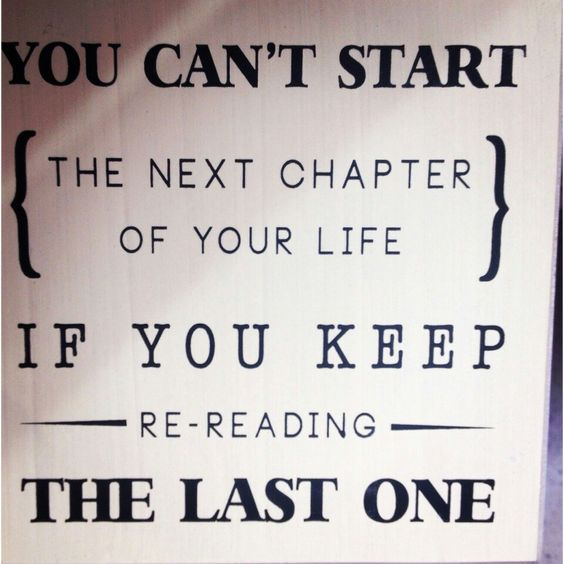 Chapters of life...