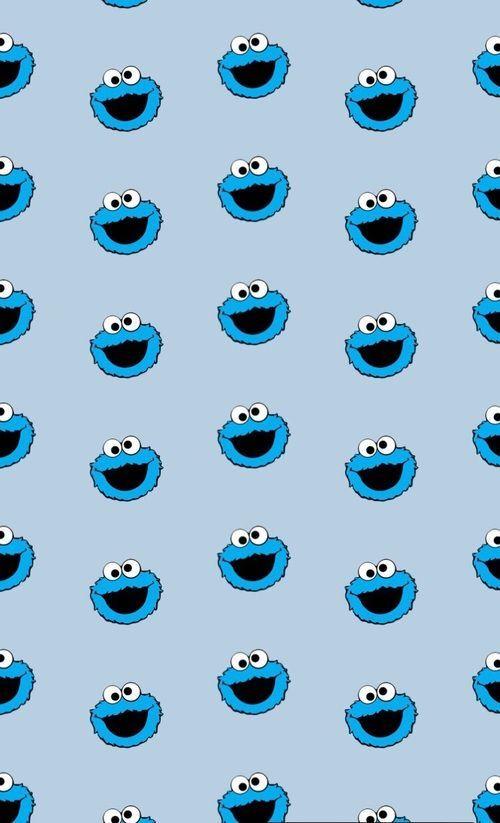 Pin By Brissa Triana On Apleach Cookie Monster Wallpaper Iphone Wallpaper Pattern Wallpaper Iphone Cute